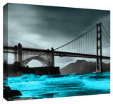 Golden Gate Stretched Canvas Print