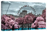 London Fair Stretched Canvas Print