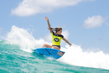 Roxy Pro Gold Coast: Mar 1 - Alana Blanchard Photographic Print by Kelly Cestari
