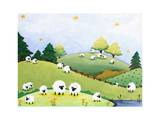 Peaceful Pasture Print by  Susybee
