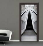 Escalator Door Wallpaper Mural Papier peint
