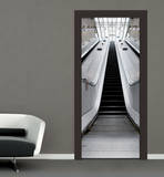 Escalator Door Wallpaper Mural Wallpaper Mural