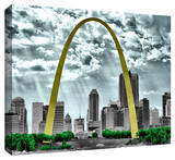 St Louis Stretched Canvas Print