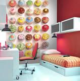Cupcakes Deco Wall Mural Wall Mural