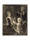 Young Mozart Rehearsing His Twelfth Mass Giclee Print