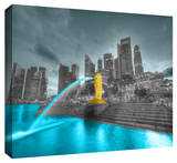Singapore Stretched Canvas Print
