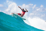 2014 Quiksilver Pro Gold Coast: Mar 2 - Taj Burrow Photographic Print by Kelly Cestari