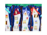 Crooked Houses Art by  Susybee