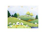 Peaceful Pasture Poster by  Susybee