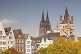 The Old Town of Cologne, North Rhine-Westphalia, Germany, Europe Photographic Print by Julian Elliott
