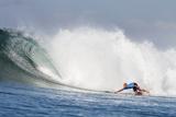 2013 Oakley Pro Bali: Jun 26 - Kelly Slater Fotografisk tryk af Kirstin Scholtz