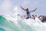 2012 Roxy Pro Presented By Land Rover: Mar 4 - Stephanie Gilmore Photographic Print by Steve Robertson