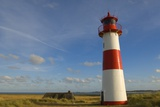 List-East Lighthouse on Sylt Island Photographic Print by Wolfgang Kaehler