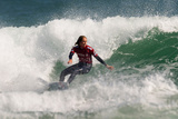 2012 TSB Bank New Zealand Surf Festival: Apr 11 - Stephanie Gilmore Photographic Print by Steve Robertson