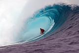 2012 Volcom Fiji Pro: Jun 8 - Joel Parkinson Reproduction photographique par Kirstin Scholtz