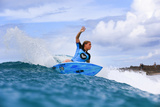 Roxy Pro Gold Coast: Mar 4 - Dimity Stoyle Photographic Print by Simon Williams