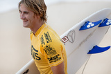 2013 Vans World Cup: Nov 30 - Beyrick De Vries Photographic Print by Kelly Cestari