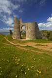 A View of Pennard Castle Photographic Print by Granville Harris