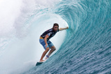 2013 Volcom Fiji Pro: Jun 6 - Matt Wilkinson Photographic Print by Kirstin Scholtz