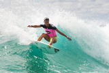 Roxy Pro Gold Coast: Mar 4 - Sally Fitzgibbons Photographic Print by Kelly Cestari