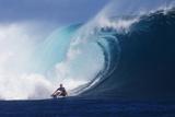 2013 Volcom Fiji Pro: Jun 12 - Mick Fanning Photographic Print by Kirstin Scholtz