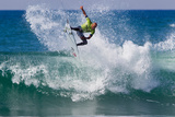 2012 Hurley Pro: Sep 16 - Kelly Slater Photographic Print by Sean Rowland