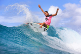 Roxy Pro Gold Coast: Mar 4 - Sally Fitzgibbons Photographic Print by Simon Williams