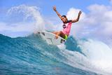 Roxy Pro Gold Coast: Mar 4 - Sally Fitzgibbons Photographic Print by Simon Williams