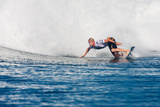 2013 Oakley Pro Bali: Jun 26 - Mick Fanning Photographic Print by Kirstin Scholtz