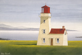 Irish Light, Inisheer Co. Galway Impression giclée par Peter Heard