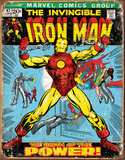 Iron Man Comic Cover Tin Sign Tin Sign