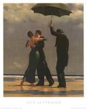 Dancer In Emerald Plakater af Jack Vettriano