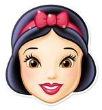 Snow White Face Mask Careta