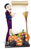Halloween Sign Figuras de cartón
