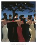 Bailadores de vals Póster por Jack Vettriano