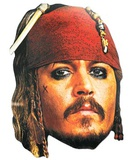 Captain Jack Sparrow Face Mask Careta