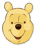 Winnie the Pooh Face Mask Maschere