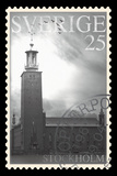Stamp Collection VI Giclee Print by  The Vintage Collection