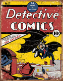 Detective Comics Batman No. 27 Tin Sign Tin Sign