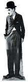 Charlie Chaplin Lifesize Standup Silhouettes découpées en carton