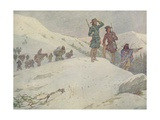 Book Illustration of Lewis and Clark Giclee Print by E. Boyd Smith
