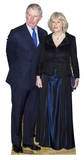 Charles and Camilla Cardboard Cutouts