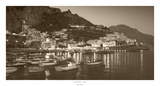 Amalfi Lights Prints by Rod Chase