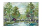 Forest at Dawn Crop Premium Giclee Print by Silvia Vassileva