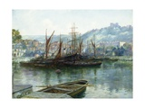 A View of Whitby Giclee Print by J. Valentine Davis
