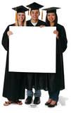 Graduation Sign Figuras de cartón