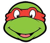 Rapheal TMNT Face Mask Maske