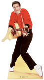 Elvis Red Jacket and Guitar Pappfigurer