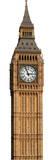Big Ben - Clock Silhouettes découpées en carton