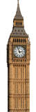 Big Ben - Clock Cardboard Cutouts